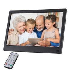 11.6 inch FHD LED Display Digital Photo Frame with Holder & Remote Control, MSTAR V56 Program, Support USB / SD Card Input (Black)