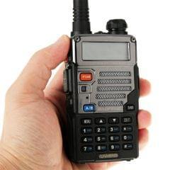 BAOFENG UV-5RB Professional Dual Band Transceiver FM Two Way Radio Walkie Talkie Transmitter(Black)