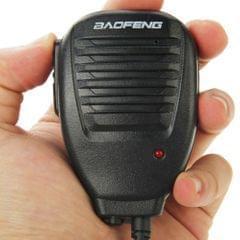 Clip-on Speaker Microphone for Walkie Talkies, 3.5mm + 2.5mm Earphone + Mic Plug(Black)\t    \t\t        \t                         \t     \t\t\t\t    \t\t\t\t ()