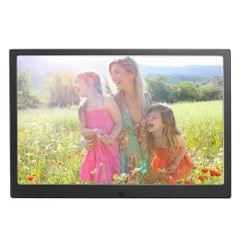 HSD1202 12.1 inch 1280x800 High Resolution Display Digital Photo Frame with Holder and Remote Control, Support SD / MMC / MS Card / USB Port