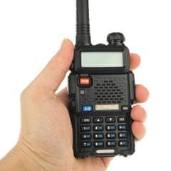 BAOFENG UV-5R Professional Dual Band Transceiver FM Two Way Radio Walkie Talkie Transmitter(Black)