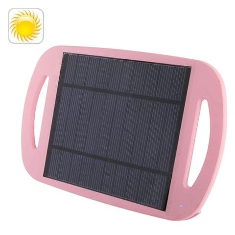 2.5W Universal Environment Friendly Sun Power Panel Solar Charger Pad with Holder for Mobile phones / MP3 / Digital Camera / GPS and Other Electronic Devices, WN-801(Magenta)