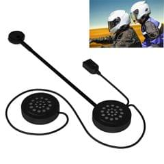 MH02 Bluetooth V4.0 Helmet Headset 5V for Motorcycle Driving with Anti-interference Microphone(Black)
