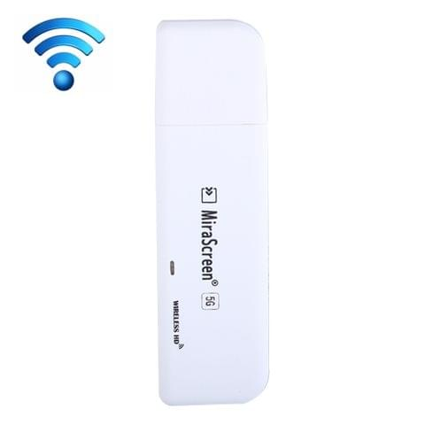 MiraScreen P8 5G / 2.4GHz WiFi HDMI Dongle TV Stick 1080P Full HD Display Wireless Converter, Support DLNA / Airplay / Miracast