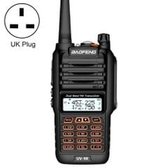 BaoFeng BF-UV9R 5W Waterproof Dual Band Radio Handheld Antenna Walkie Talkie, UK Plug