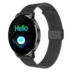 OUKITEL W3 1.3 inch TFT Color Screen Smartwatch IP67 Waterproof, Black Stainless Steel Watchband, Support Call Reminder / Heart Rate Monitoring / Sedentary Reminder / Sport Mode / Sleep Monitoring (Black)