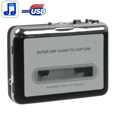 Tape to PC Super USB Cassette to MP3 Converter Capture Audio Music Player