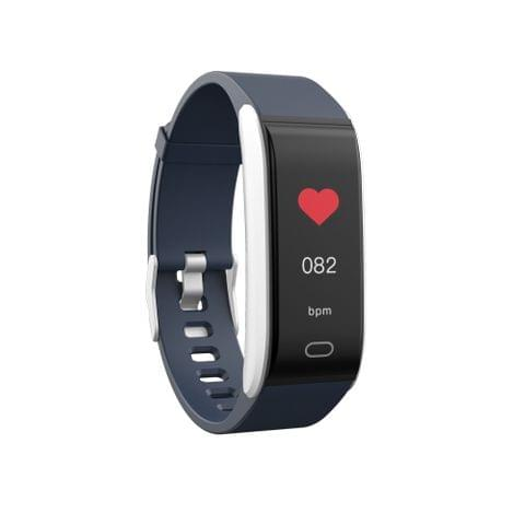 B11 0.96 inches IPS Color Screen Smart Bracelet IP67 Waterproof, Support Call Reminder /Heart Rate Monitoring /Blood Pressure Monitoring /Sleep Monitoring / Sedentary Reminder (Blue)