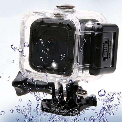 60m Waterproof ABS Shell Transparent Protective Housing Case for GoPro HERO5 Session / HERO4 Session