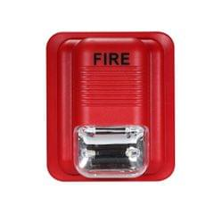 Fire Alarm Warning Strobe Siren Security System