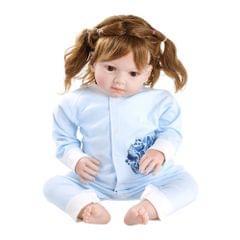 Baby Romper Unisex 100% Cotton Babysuit Baby Clothes Playsuit Long Sleeve Bird Print Spring Summer Autumn For Newborn Infant Baby Girl Boy Blue 6-9M