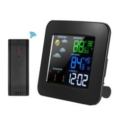 Multifunctional Wireless Color Weather Station Clock Thermometer Hygrometer Barometer