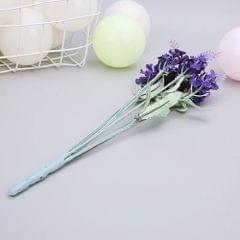 10Pcs Artificial Lavender Silk Flower Bouquet