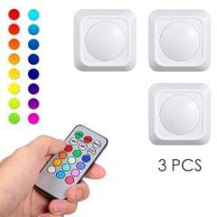 4.5V 1W  RGB Color Changing LED Puck Lights