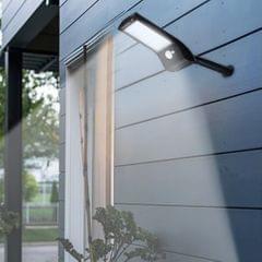 1PCS 36 LEDs Solar Powered Wall Light PIR Motion Sensor Lamp with Mounting Pole