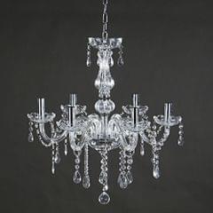 AC 110-240V E12 Crystal Raindrop Chandelier Lighting Ceiling Lamp