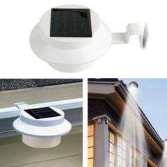 Solar 3 LEDs Fence Light Solar Powered Wall Lamp