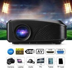 LED-4018 Portable Projector 1200 Lumens 800*480 Support 1080P 130 Inch Red-blue 3D With HD USB VGA AV TF Interfaces