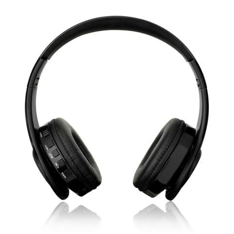 Foldable  Wireless BT Over Ear Headset MP3 Player