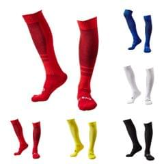 1 Pair of Breathable Wicking Wear Resistant Knee High Soccer Football Socks Compression Striped Socks Cotton Socks