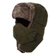 Women Men Water Repellent Warm Winter Trooper Hat with Mask Ear Flaps