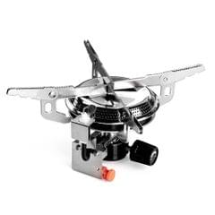 Outdoor Camping Stove Foldable Gas Stove Pocket Gas Cooking Stove with Piezo Ignition