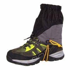 Outdoor Silicon Coated Nylon Waterproof Ultralight Gaiters Leg Protection Guard Hiking Climbing Trekking