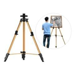Aluminum Easel Stand Tripod Adjustable Height 19''-55'' Lightweight Sturdy Field Easel for Painting with Carrying Bag