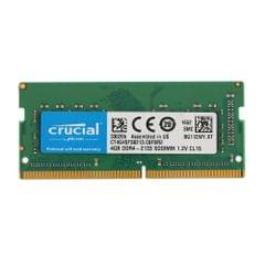 Crucial 4GB Single DDR4 2133MT/s PC4-17000 CL15 1.2V SODIMM 260-Pin Memory for Laptop Notebook CT4G4SFS8213