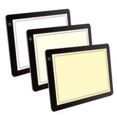 A4 LED Light Copy Board Adjustable 3 Light Colors To Protect Eyes Digital Drawing Tablet Graphic