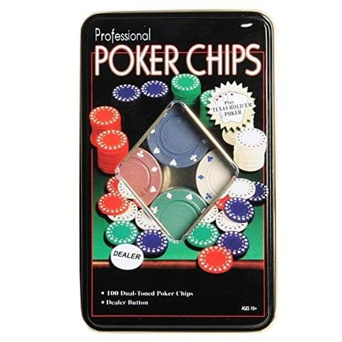 Crazy Sutra Poker Chips Casino Game (Set of 100) Poker Chips game set