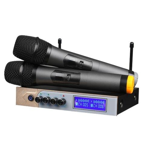 Handheld Microphone Support Dual BT Connection and Micro Playing Music