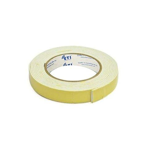 ETI Double Side Foam Tape 24mmX5Meter Set of 2