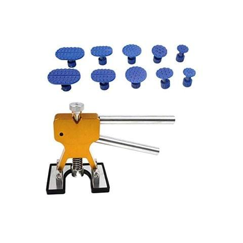 10 Pieces Tabs Automobile Paintless Puller Lifter Hail Removal Repair Kits