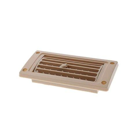 New AC Air Conditioner Linear Vent Grille Cover Ducted for Car Boat RV 2 Colors are Available - as described, Beige