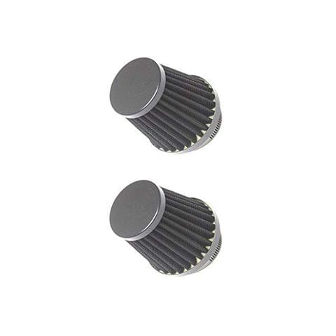 2Pcs Motorcycle ATV Pit Dirt Bike Scooter Pod Universal Cone Air Filter 60mm