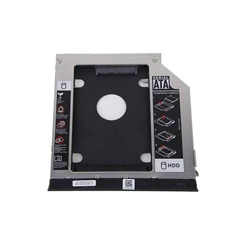 Generic 2nd Hard Drive Caddy for Dell E6420 E6520 E6320 E6430 with Ejector + Bezel