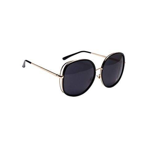 Unisex Glasses Metal Oversized Square Vintage Fashion Mirrored Sunglasses