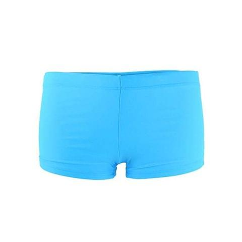 Women Plain Bikini Boy-Short Swim Swimwear Short Brief Bottoms Gym M