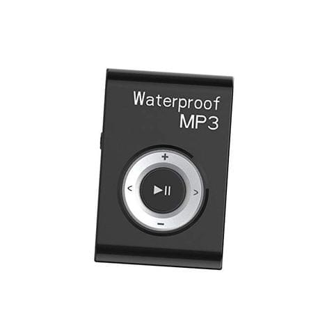 Waterproof Mp3 Music Player Stereo Audio Sound with Clip Lossless Support MP4 WMA APE WAV 16GB Black