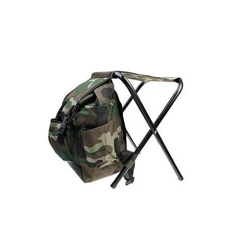 2 in 1 Fishing Stool Tackle Backpack Seat Chair Hunting Tear-Resistance Bag