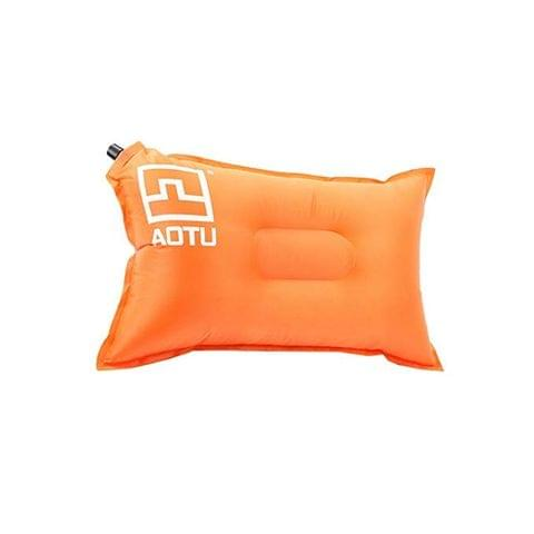 Portable Outdoor Self-Inflating Pillow Air Cushion for Camping Picnic Travel Backpacking 50x25cm