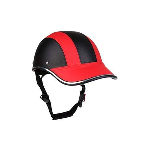 Safety Motorcycle Helmet Horse Riding Protective Hat Padding Soft Baseball Cap