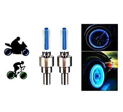 Aryshaa Bike LED Tyre Tire Flashing Flash Wheel Lights-TVS Apache RTR 160