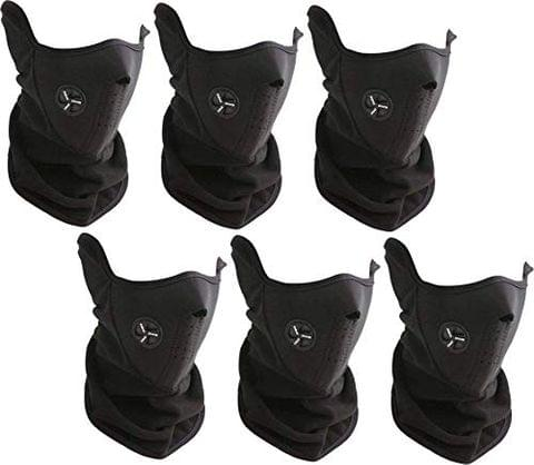 Aryshaa Fabric Face Mask for Dust Protection from Running Cycling Climbing Pack of 6