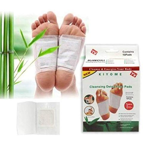Aryshaa Kinoki Cleansing Detox Foot Patches, 10 Adhesive Pads Kit in Each Pack
