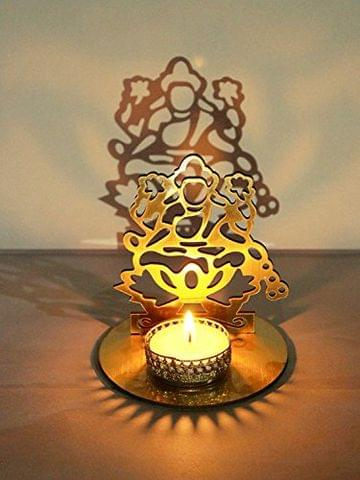 Lakshmi Ji Shadow Lamps tealight Candle Holder Stand for Pooja and Decorative