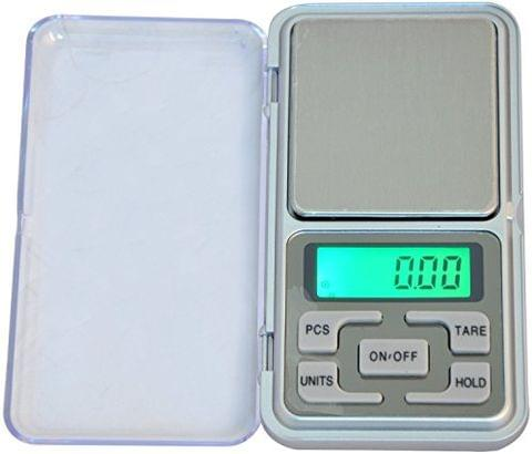 Aryshaa Steel Pocket Digital Weighing Scale Upto 500 g (Assorted)