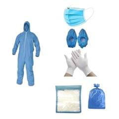 PPE Kit Medical Disposable Protective Coverall Suits for Ward/Hospital/Laboratory