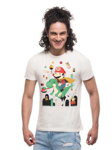 Super Mario & The Green Barney